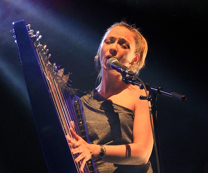 about rossitza milevska best harpist world europe home music